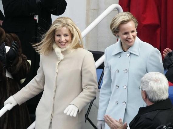 Liz and Mary Cheney