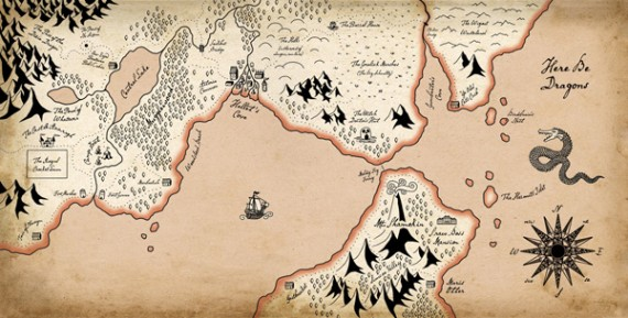 map-dragons