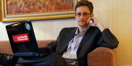 Edward Snowden Declares 'Mission Accomplished'