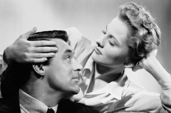 Joan Fontaine Cary Grant