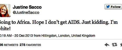 What Happens Online Doesn't Just Stay Online, Justine Sacco Edition