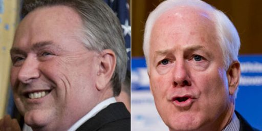 John Cornyn Leads Steve Stockman By 44 Points In First Texas Senate Poll