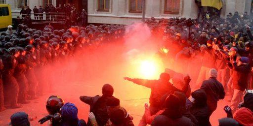 Anti-Government Protests Hit Ukraine