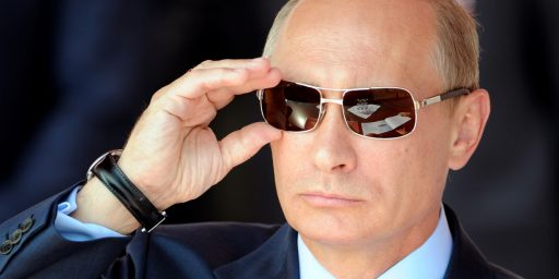 Vladmir Putin Looks To Be Throwing The 'Pro-Russian' Ukrainian Separatists Under The Bus