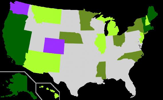US Pot Laws