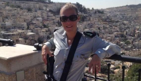 oshrat-baschar-first-woman-battalion-commander-Israeli-Defense-Forces