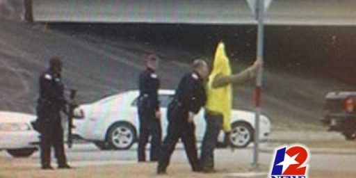 Texas Police Arrest Man Dressed As Banana While Carrying An AK-47