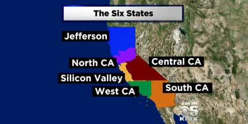 Six Californias?