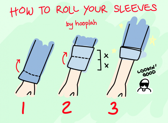 how-to-roll-your-goddamn-sleeves