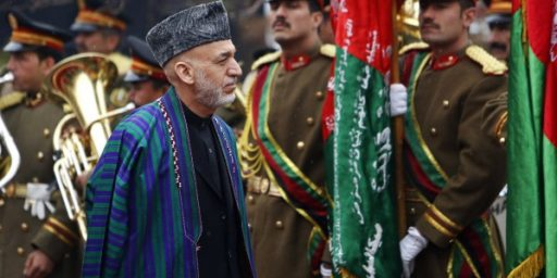Hamid Karzai Says Afghanistan Doesn't Need U.S. Troops To Stay After 2014