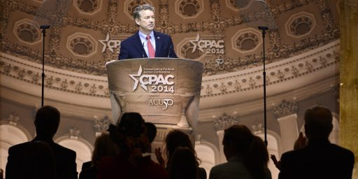 Rand Paul The GOP Frontrunner?
