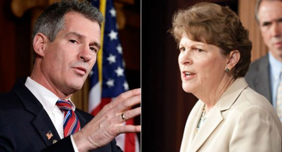 Scott Brown Jeanne Shaheen