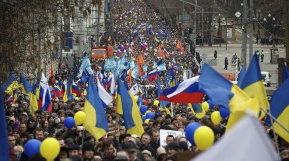 Russia Crimea Demonstration