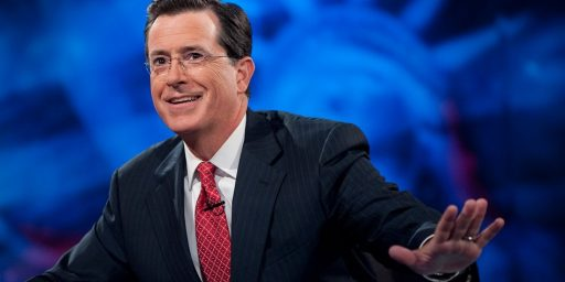 Stephen Colbert to Replace David Letterman?