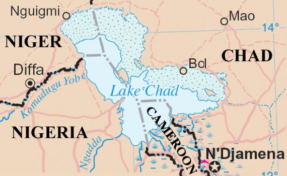 Chad Nigeria Map