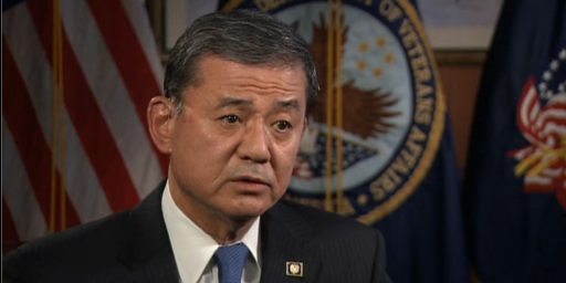 Eric Shinseki Out As Secretary Of Veterans Affairs