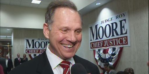 Alabama Chief Justice Roy Moore Declares War On The Constitution