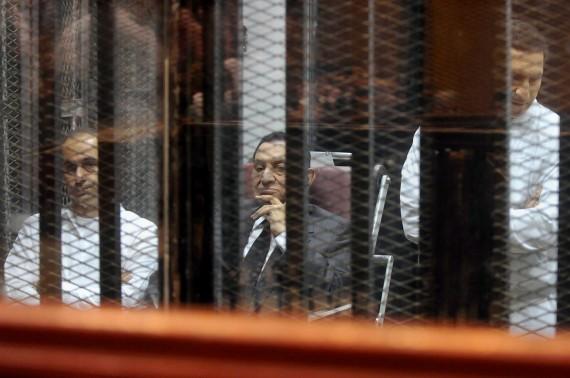 Mubarak in Court