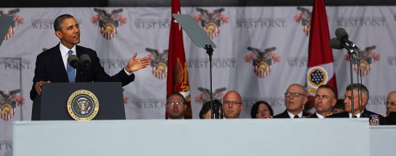 President Obama Delivers Commencement Address At West Point