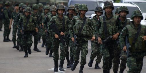 Thailand's Army Stages Military Coup
