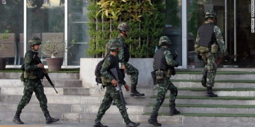 Thai Military Imposes Martial Law