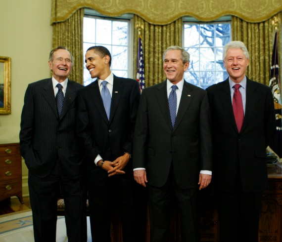 Bush 41 Obama Bush 43 Clinton