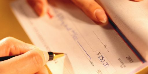 The Coming End Of Checks