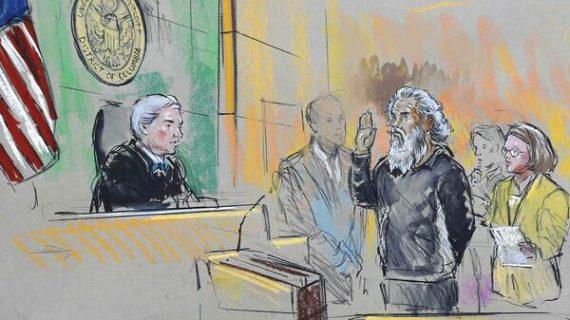 Khatallah in Court