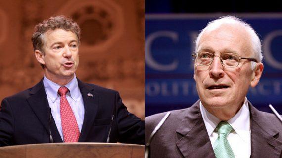 Rand Paul Dick Cheney