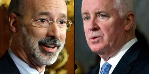 Two Polls Show Pennsylvania Governor Tom Corbett In Big Trouble