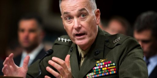 Joseph Dunford Nominated as Next Marine Commandant