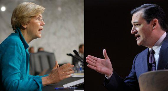 Elizabeth Warren Ted Cruz