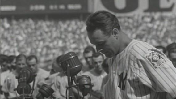 Lou Gehrig July 4 1939