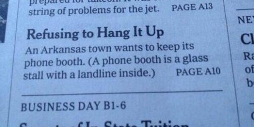 Daddy, What's a Landline?
