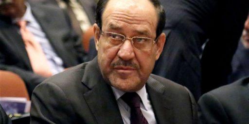 Despite Pressure, Malaki Unwilling To Step Aside In Iraq