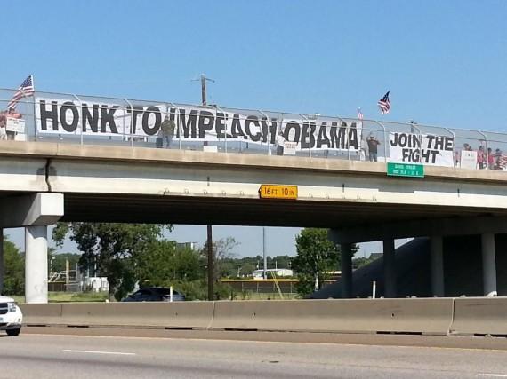 Obama Impeachment Protest