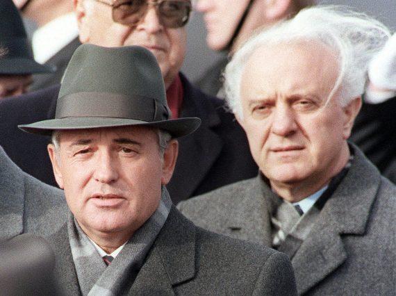 Shevardnadze Gorbachev