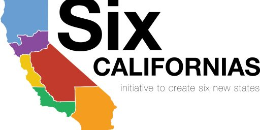 Initiative To Break California Into Six States Fails To Make Ballot