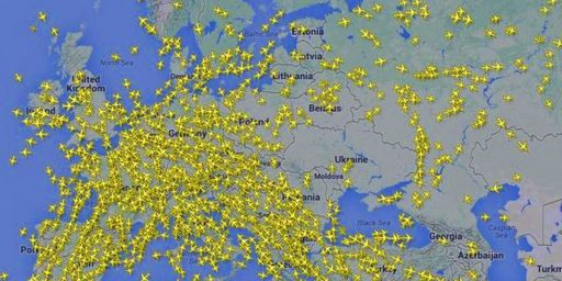 Why Were Commercial Jets Flying Over Eastern Ukraine To Begin With?