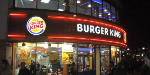 Burger King Should Not Be Condemned If It Moves To Canada For Tax Purposes