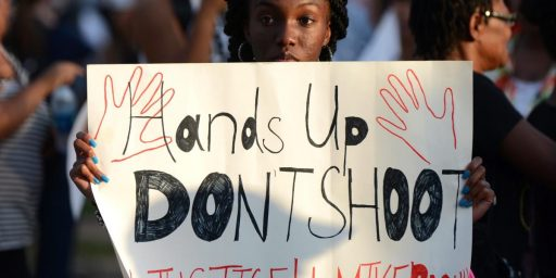 Public Opinion On Ferguson Shows Deep Racial Divisions