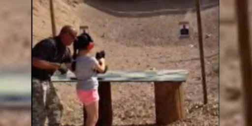 9 Year Old Kills Gun Instructor Showing Her How To Fire An Uzi