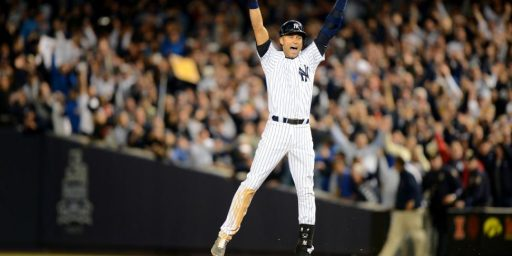 Derek Jeter Ends His Yankee Stadium Career With A Moment Straight Out Of Hollywood