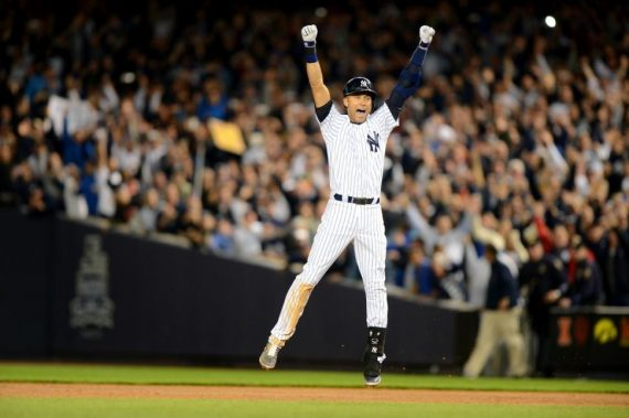 Derek Jeter Final Game Walk Off