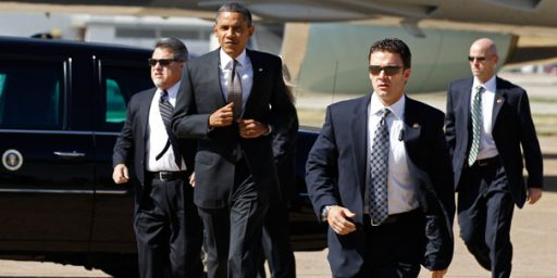 Another Secret Service Breach Put Armed Man With Criminal Record In Elevator With Obama