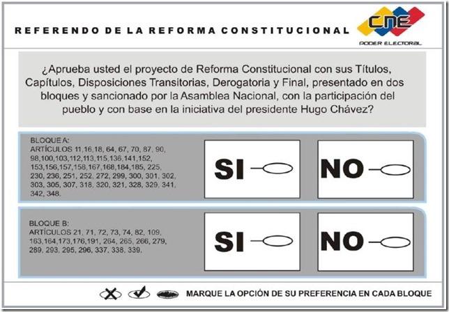 Venezuela-2007 Referendum