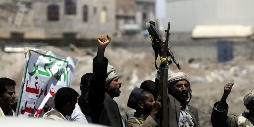 Yemeni Rebels Seize Portion Of Capital