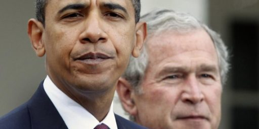 George W. Bush Attacks Obama On Foreign Policy