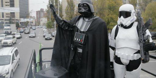 Darth Vader Running For Parliament In Ukraine