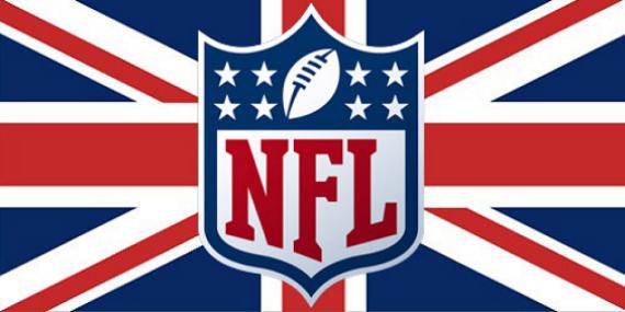 NFL British Flag